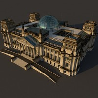 modern day reichstag 3d model