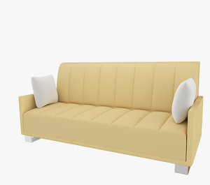 3d 3ds couch sofa