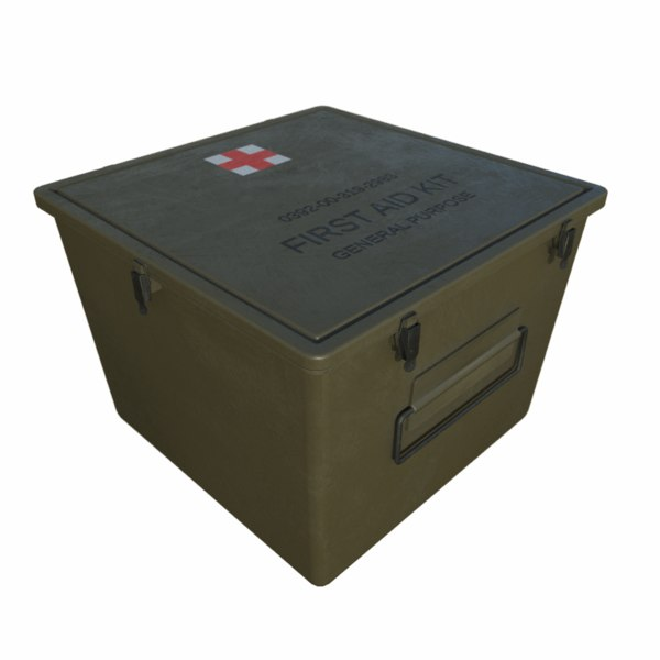 military aid kit 3d 3ds