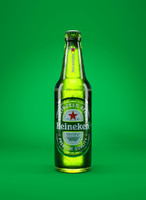 heineken beer bottle 3d obj