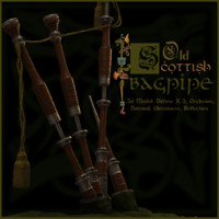 old scottish bagpipe 3ds