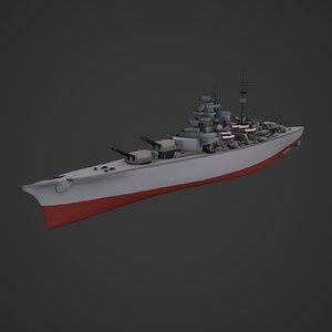3d max ready battleship