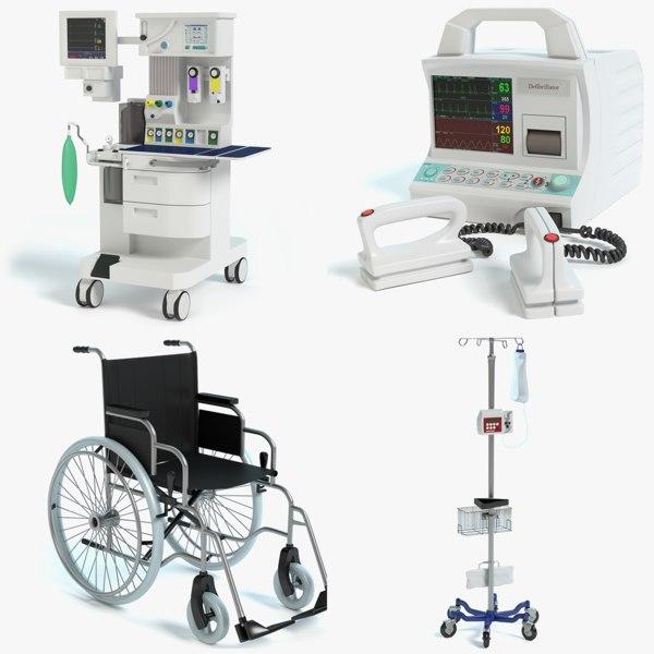 medical equipment obj