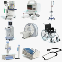 medical equipment 3d model