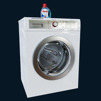 3d model washing bosch way 32891