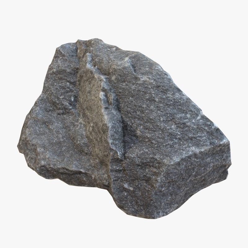 obj stone