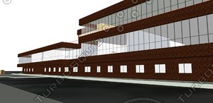 3d university jordan library model