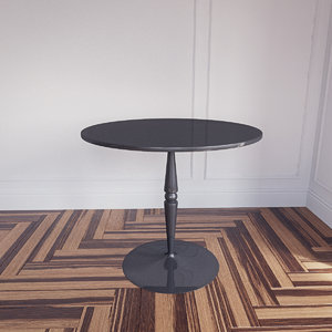 3d model florence glass table calligaris
