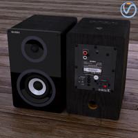 3d model loudspeakers sven