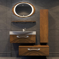 concept bathroom furniture 3d model