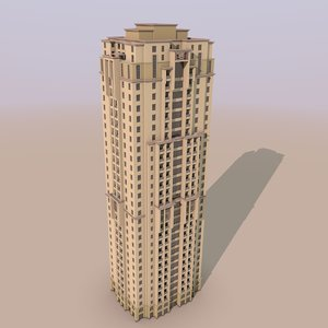 3d jumeirah beach residence murjan model