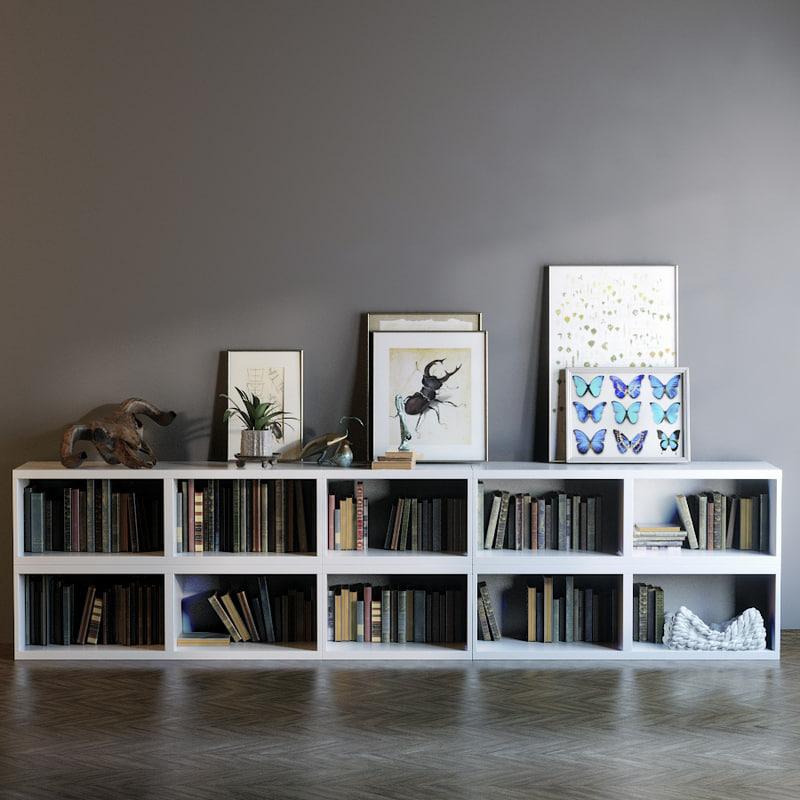3d dresser paintings model