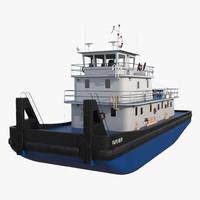 Push Boat Ship