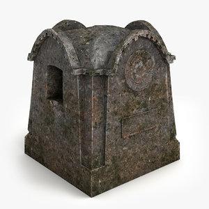 3d model tomb 2