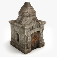 Lowpoly Tomb 4