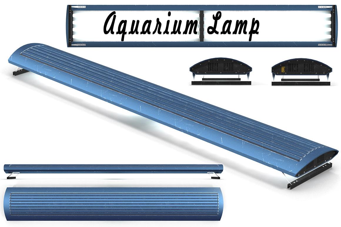 aquarium lamp 3d max