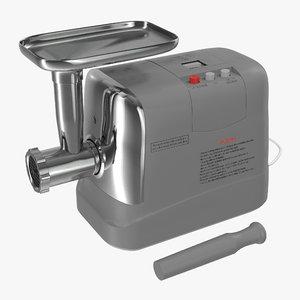 3d model electric meat grinder generic