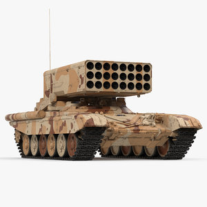 heavy throwing tos-1a desert 3d max