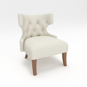 3d model of chair classic armchair