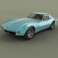 Chevrolet Corvette C3 Convertible 1969