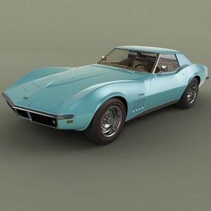1969 chevrolet corvette c3 obj