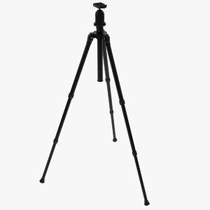 3d model of generic camera tripod