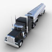 max tank semi-trailer truck tanker