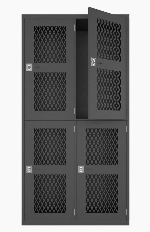 locker lock 3d max