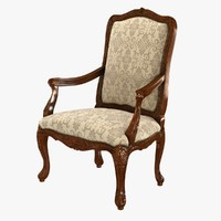 18th Century Louis XV Walnut Armchair