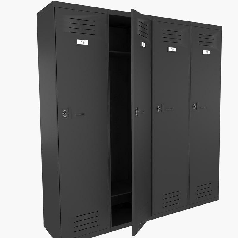 locker lock 3d model
