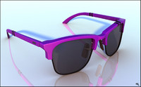 sunglasses glasses sun 3d max