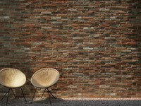 Brick wall (250 x 180 cm) Small
