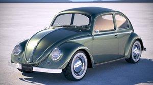 beetle 1950 obj