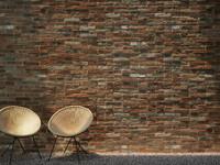 Brick wall (250 x 180 cm) Medium