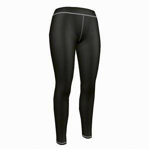 3d model woman yoga pants
