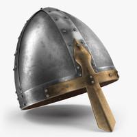 3d norman helmet