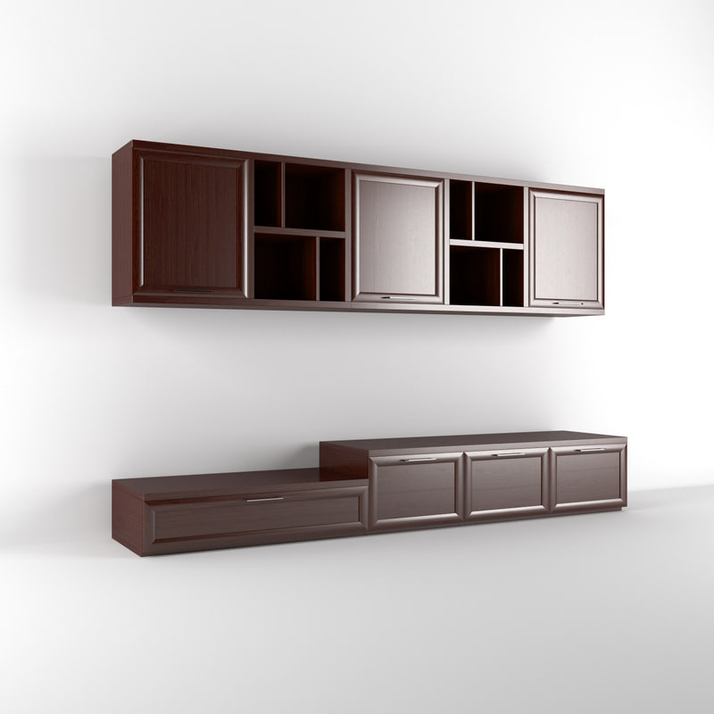 realistic wall unit max