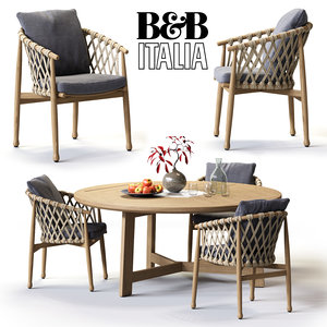 3d model b ginestra table