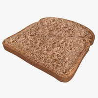 Bread Slice (Dark)