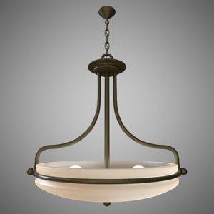 uplight ceiling light 3d model
