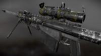 obj barrett m82 custom sniper