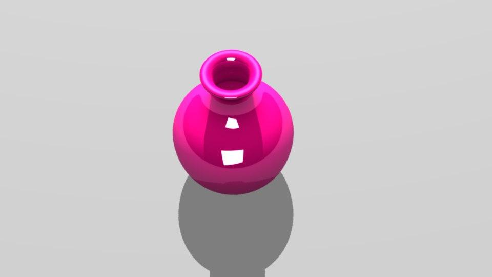 flower vase 3d model