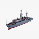 communication intelligence ship 3D models