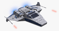 space ship 3ds