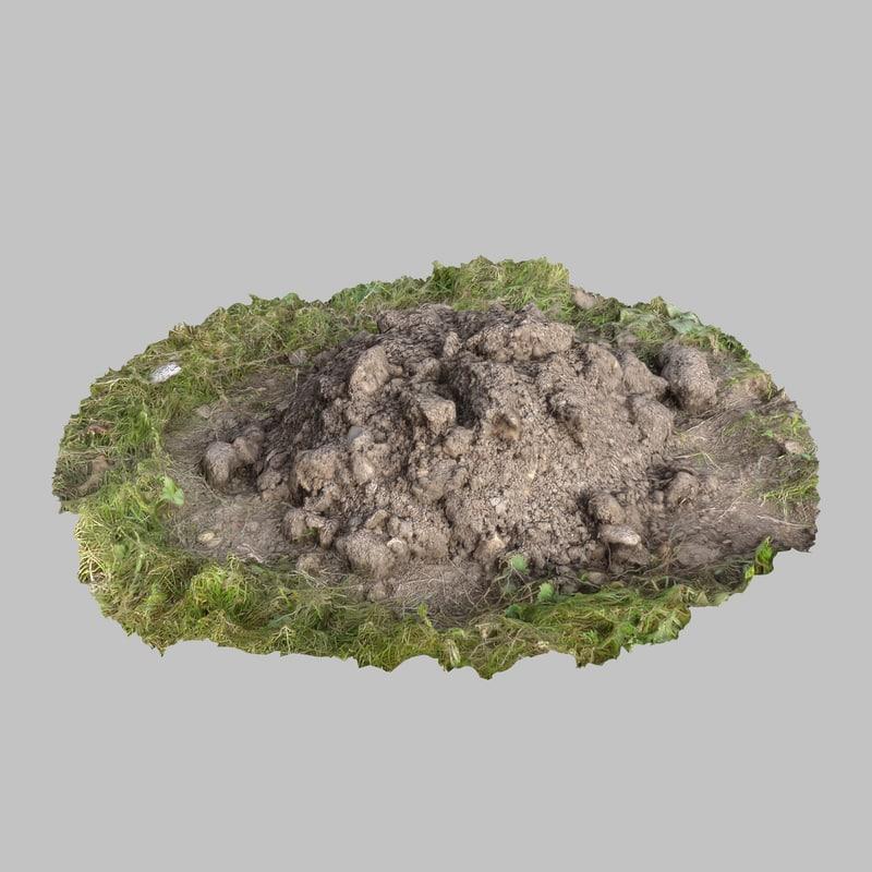 loam mound obj