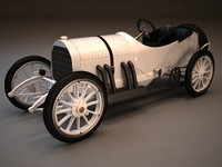3d 3ds mercedes gp 1908