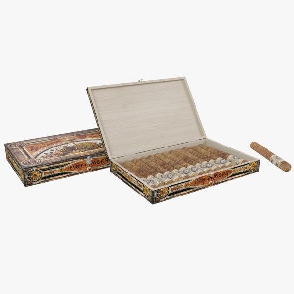 cigar box 3d 3ds