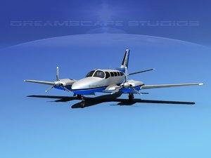 3d propellers cessna 404 titan