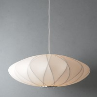 criss cross bubble lamp