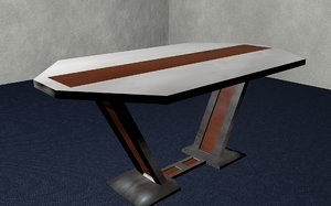 modern table 3ds